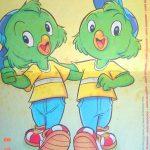 Na onda dos sobrinhos, nasceram os irmãos Zico e Zeca, travessos ao extremo