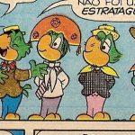 Os primos de Zé, cada um representando uma região do país: Da esquerda pra direita, Zé Paulista, Zé Jandaia, Zé Queijinho e Zé Pampeiro