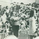 Entretenimento nas mãos de Valdemar Garcia, eram dias de juventude enchendo os estúdios da Coligadas para musica, arte e diversões