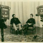 """...diante do jornalismo e do comando do inovador """"Mulheres em Vanguarda""""...."""
