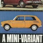 """O primeiro protótipo: literalmente, uma Variant """"encurtada"""", em maio de 1972"""